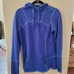Dri-fit material, good for colder weather